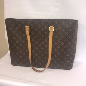 Authentic Louis Vuitton Luco Tote Bag-preowned
